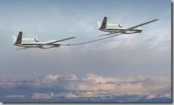 Tandem NASA Global Hawk Refuel
