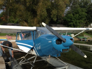 @jetwhine discovers seaplane flying