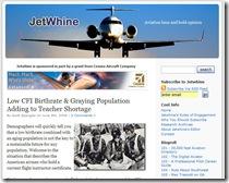 jetwhine front page