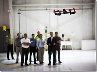 Vortex Drone session, 5/30/15 at Atlantic Aviation, PWK.